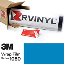 3M 1080 M67 Matte Riviera Blue 5ft x 1ft W/Application Card Vinyl Vehicle Car Wrap Film Sheet Roll
