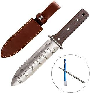 CIELCERA Hori Hori Garden Messer mit schärfen Stab, Ideal -