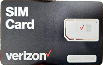 verizon wireless data only sim card