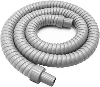 Forestchill Water Drain Hose Pipe with Insulation, Drain Hose for Portable Air Conditioner, Universal Fit Drain Hose, 120cm, 3.9ft,Grey