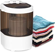 Portable Washing Machine, Washing Capacity 2.5Kg, Rotating Turbine Laundry Cleaning, Compact Timer Washing Machine