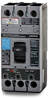 New Siemens FXD63B125L Circuit Breaker Sentron 3 Pole 125A 600V 35kA FXD