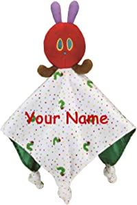 Personalized The World of Eric Carle The Very Hungry Caterpillar Snuggle Blanky Blanket - 17 Inches