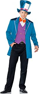 Leg Avenue Mad Tea Party Host Adult Costume,Teal,X-Large