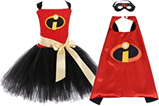 Halloween Super Hero Costumes for Girls Birthday Role Play Costume
