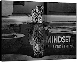 Yatsen Bridge Motivational Wall Art Posters for Office Mindset Canvas Prints Painting Inspiration Entrepreneur Quotes Cute...
