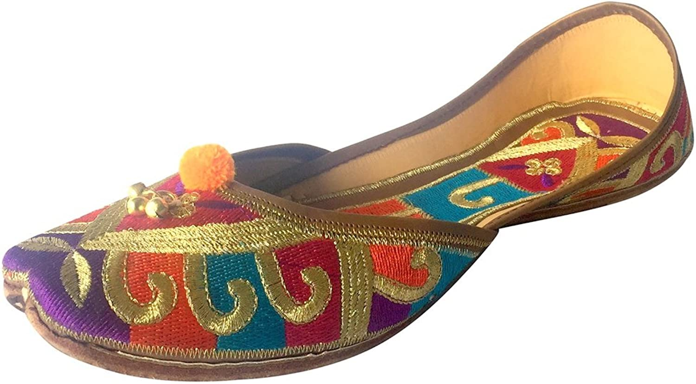 Step n Style Punjabi Jutti Indian shoes Khussa shoes Saree Party WEAR Jooti Ballet