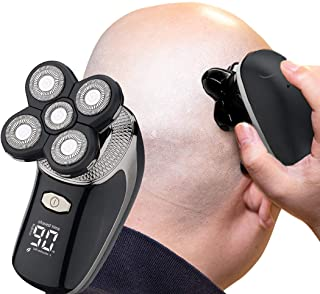 Tiklean Electric Razor for Men Head Skull Shaver for Bald Men Grooming Kit Wet Dry Rotary Shavers...