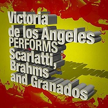 Victoria De Los Angeles Performs Scarlatti, Brahms and Granados