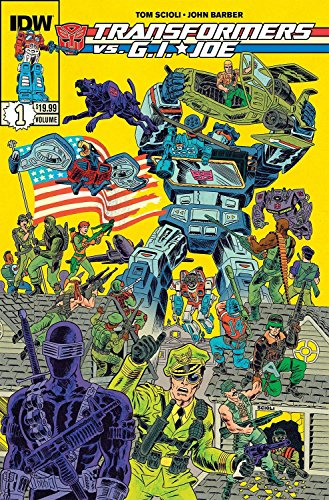 Transformers vs G.I. Joe Volume 1 [Idioma Inglés]