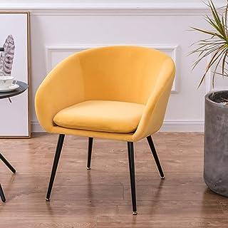 XZPENG Fauteuil Fauteuil Upholestered Accent Chair Canapé Doux Velours Salle à manger Salon Bureau Relaxant Maison Salon C...