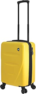 "Mia Toro M1304-20in-ylw Italy Fassa Hardside Spinner 20"" Carry-on, Yellow"