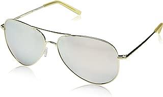 Polaroid Sunglasses Women's Pld6012n Polarized Aviator Sunglasses, GOLD, 62 mm