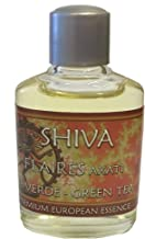 Shiva Green Tea with Floral Accents Essential Fragrance Oils by Flaires