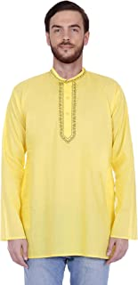Men's Tunic Short Kurta Shirt Round Neck Regular fit