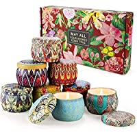 AMORXIA Scented Candles Gift Sets