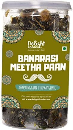 Delight Foods Traditional Churans, Mukhwas & Paan - Premium Quality - Hygienically Packed (Banarasi Meetha Paan, 100g)