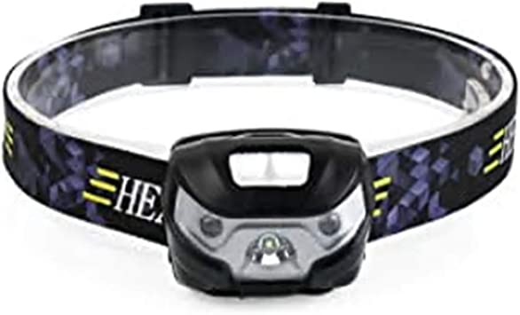 LED Linterna frontal, USB recargable Lámpara, 5 Modos de luz, Impermeable y, Ajustable Correr Frontal Para Camping, Pesca, Ciclismo, Carrera, Caza de ...