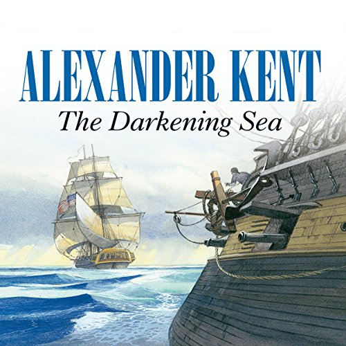 The Darkening Sea audiobook cover art