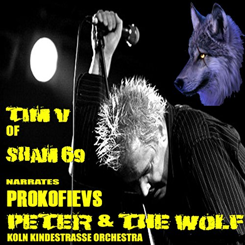 Peter and the Wolf audiobook cover art