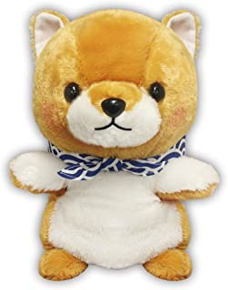Amuse Mameshiba 3 Brothers Series Plush Dog Puppet Doll Brown 'Mametaro' size (9