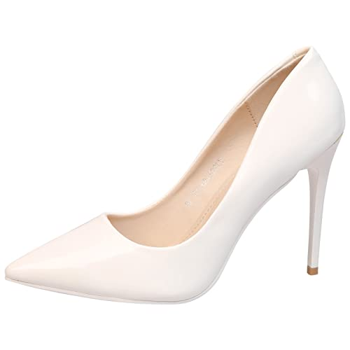 a6314bb5b7 Feet First Fashion Danita Womens High Stiletto Heel Pointed Toe Court Shoes