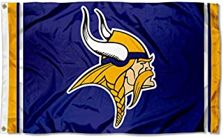 WinCraft Minnesota Vikings Large NFL 3x5 Flag