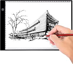 Portable Light Pad Led A4 light Box Thin Tracing Board, Artcraft Tablet with 3 Brightness Settings for Diamond Painting, T...