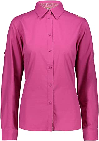 CMP - Camisa para Mujer (Transpirable, elástica ...