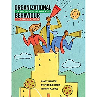 VangoNotes for Organizational Behaviour     Concepts, Controversies, Applications, 5th Canadian Edition              Written by:                                                                                                                                 Nancy Langton,                                                                                        Stephen Robbins,                                                                                        Timothy Judge                               Narrated by:                                                                                                                                 Christine Fuchs,                                                                                        Ax Norman                      Length: Not yet known     Not rated yet     Overall 0.0