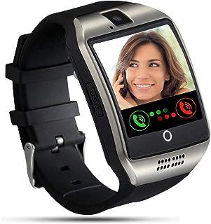 Tipmant Smartwatch, Reloj Inteligente para Hombre Mujer Niños, Relojes Inteligentes con Ranura para Tarjeta SIM Cámara Mús...