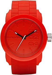 Diesel Men's DZ1440 Double Down Red Silicone Watch