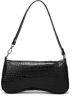 Umhängetasche für Damen Krokodil Geldbörse und Handtasche Klassische Clutch Vegan Leder mit Reißverschluss