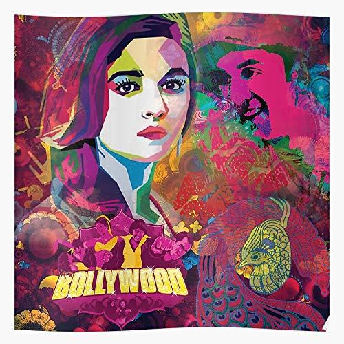 Indian Actors Retro Actor Cinema Pop Kitsh Art Bollywood Film Home Decor Wall Art Print Poster !