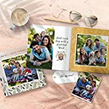 Custom Memory Photo Album Book, 'All Good Things' PersonalizedChristmas Family Birthday Gift, Collage Picture Printed Adventure Scrapbook Book for Best Friends Anniversary Travel Graduation, 8x8