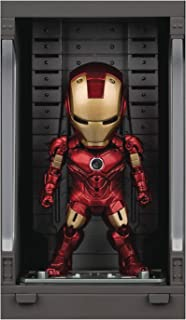 Iron Man 3: Iron Man Mk IV with Hall of Armor Mea-015 Mini Egg Attack Figure