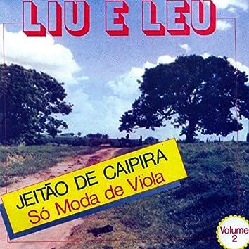 Jeitão de Caipira: Só Moda de Viola, Vol. 2