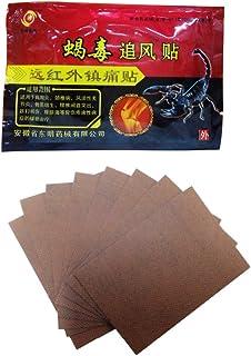 Unim - 24 parches/3 bolsas, emplasto chino para aliviar dolores derivados de la artritis reumatoide, espalda, rodilla, etc