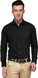 Raza Fashion Men's Regular Fit Full Sleeves Formal Shirt