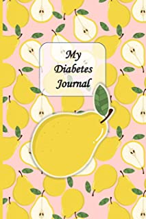 My Diabetes Logbook: Unique Beautifully Designed Log Book Tracker Notebook For Diabetics To Document Daily Data, Pattern D...