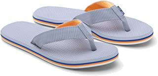 Hari Mari Men's Dunes Flip Flop - Gray/Blue/Orang9