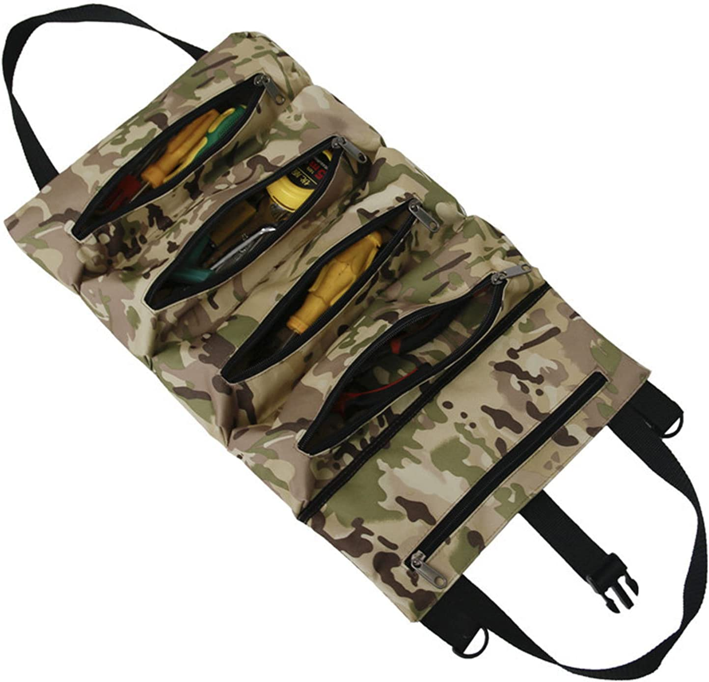 OhhGo Roll-up Tool Albuquerque Mall Bag Oxford Pouch Multi-Pur Hanging Popular products Cloth