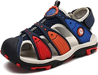 83c8a848 Sandalias de Niño Niña Punta Cerrada Verano Zapatos de Pescador para  Exteriores Playa