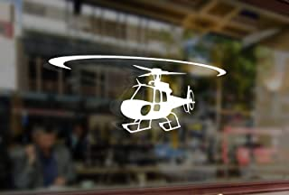 25 Centimeters Helicopter astar AS350 Eurocopter Vinyl Stickers Funny Decals Bumper Car Auto Computer Laptop Wall Window Glass Skateboard Snowboard