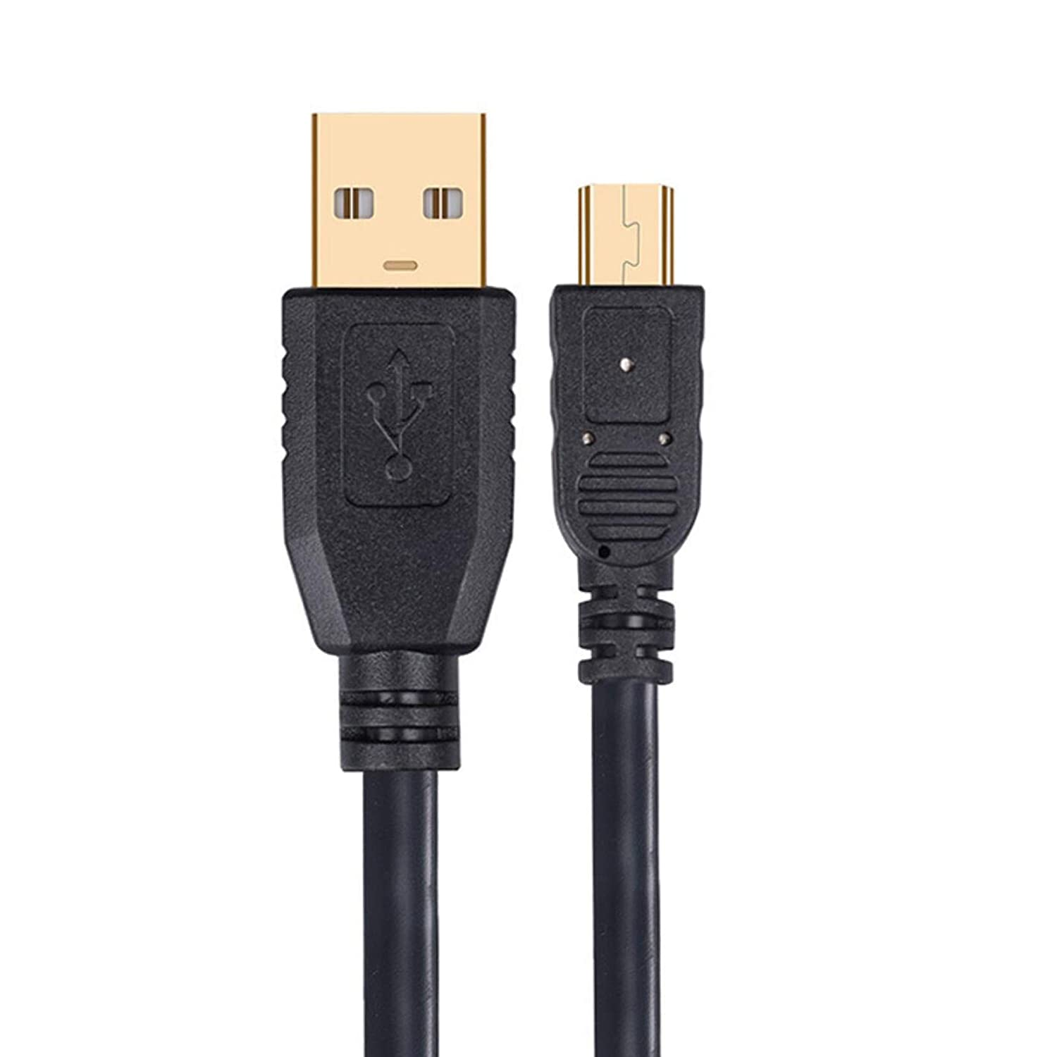 Mini USB Cable USB 2.0 A to Mini-B 5 Pin BolAAzul Mini USB Data Sync /& Charger Cable W//Ferrite Core etc. USB PC Charger Charging Cable Cord for TI-84 Plus CE Graphing Calculator MP3//MP4//GPS