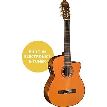 Washburn C5CE-A Classic Series Cutaway Guitarra eléctrica acústica ...
