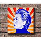 Sanwooden Hillary Clinton Musik Rapper Album Cover Poster
