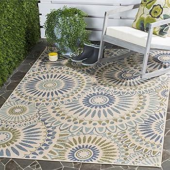 Safavieh Veranda Collection Indoor/ Outdoor 4' x 5ƍ