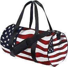 FANTAZIO Gym Duffel tas Amerikaanse VS vlag Mens Gym Duffel tas