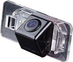Navinio Universal Vista trasera cámara CCD Chip para BMW X1 X3 X5 X6 M3/E46/e46csl/E90/E91/E92/E93/E82 E88/E39/E60/E60 N/E61/E61 N/E53/E70/E71/X6: 530i/536li/335i 328i/335i/320i, 330I/X1/520li